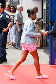 Keke Palmer - Arriving at 'Good Morning America' in NYC