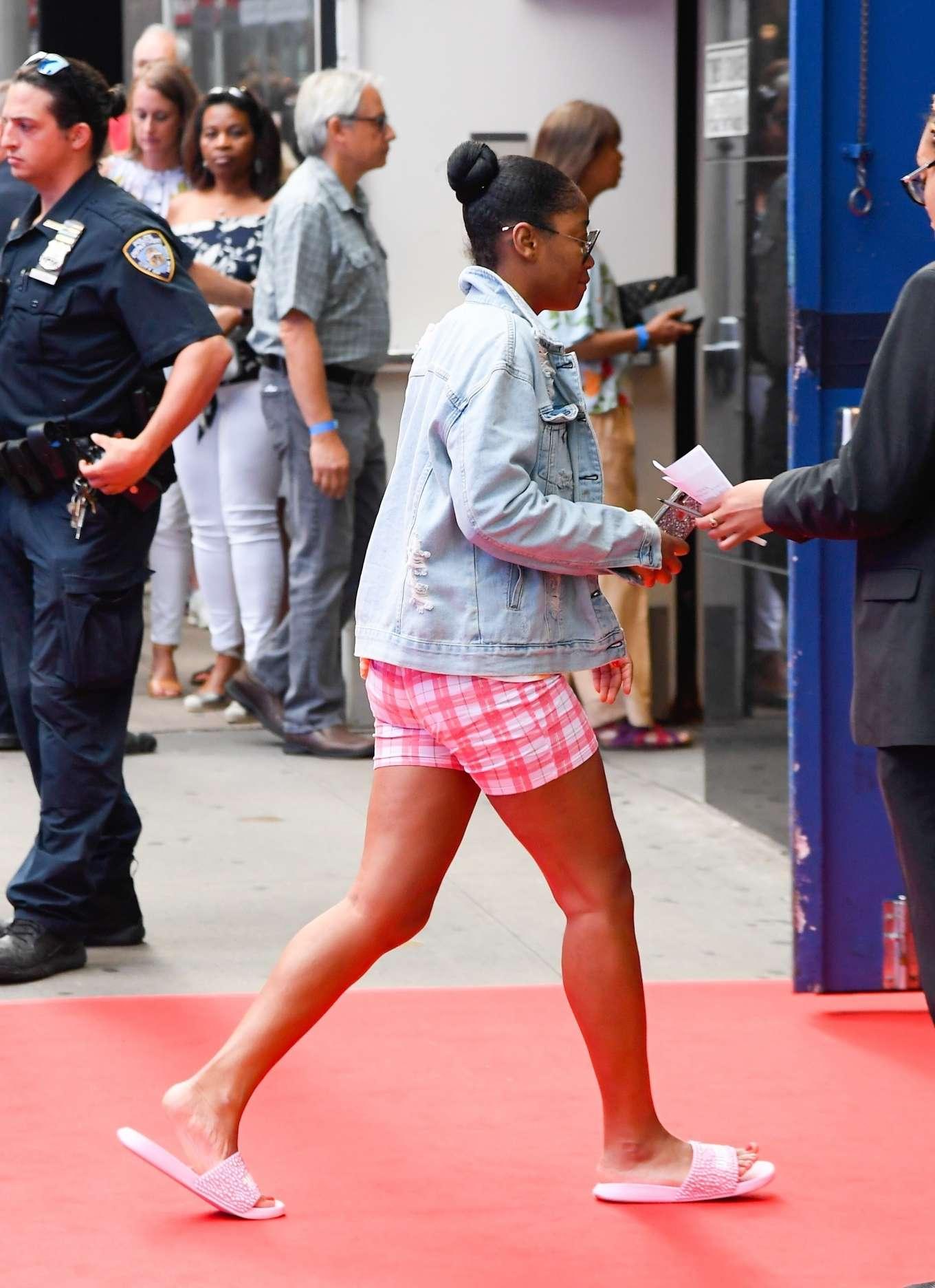 Keke Palmer - Arriving at 'Good Morning America' in NYC