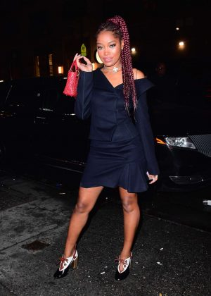 Keke Palmer - Arriving at Up and Down Nightclub in New York City