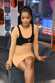 Keke Palmer - At Strahan and Sara