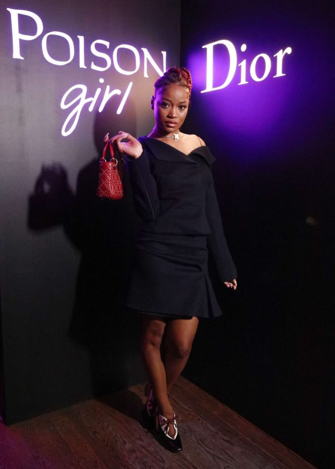 Keke Palmer - Dior Celebrates 'Poison Girl' in New York