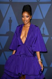 Keke Palmer - Governors Awards 2019 in LA