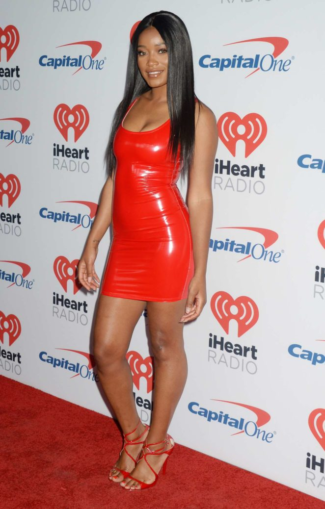 Keke Palmer 2017 : Keke Palmer: Hot in Red Dress at 2017 iHeartRadio Music Festival in Las Vegas-16