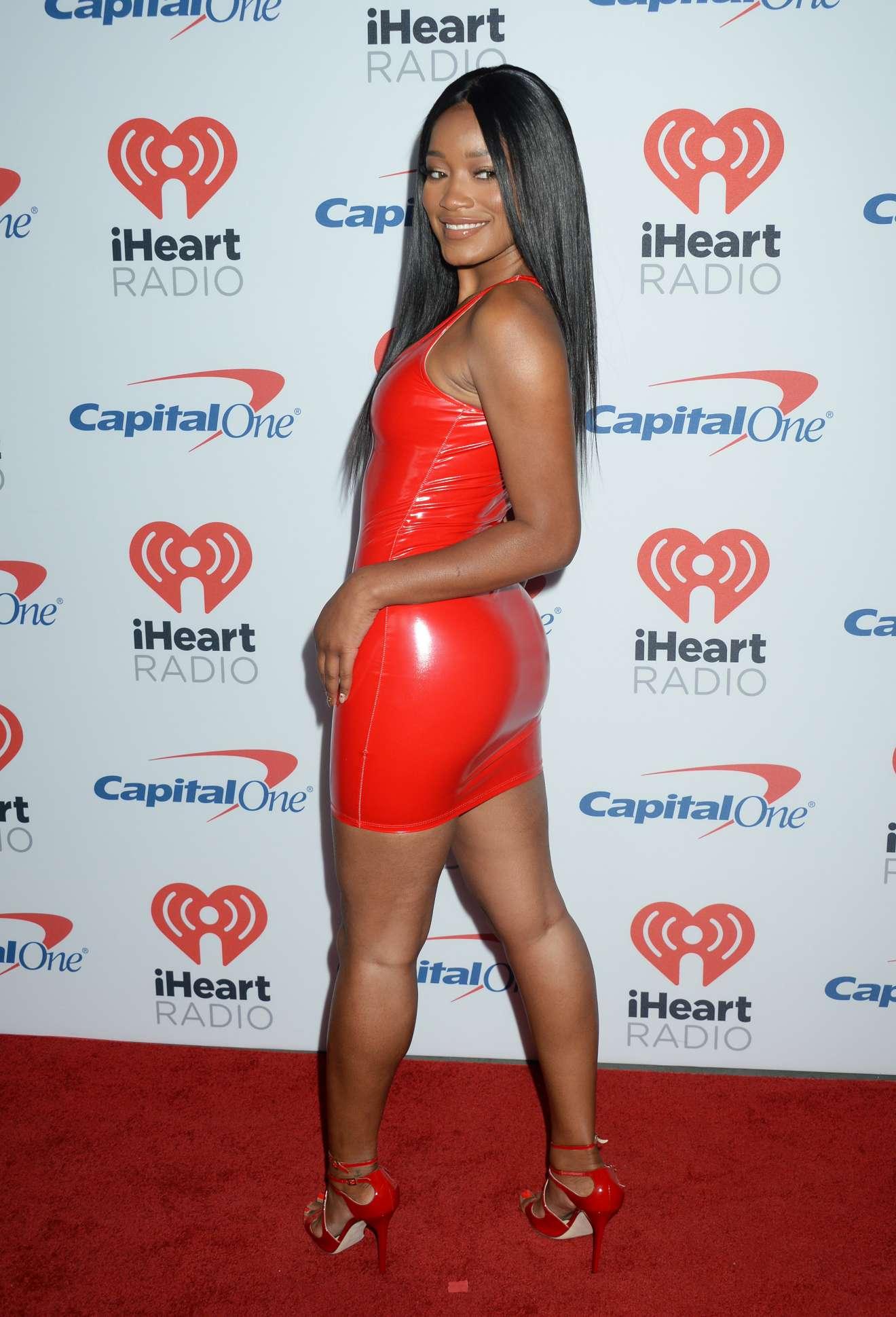 Keke Palmer 2017 : Keke Palmer: Hot in Red Dress at 2017 iHeartRadio Music Festival in Las Vegas-18