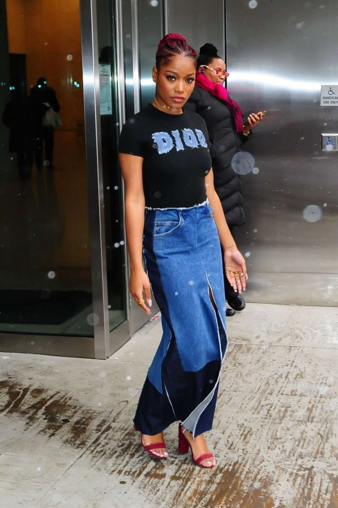 Keke Palmer: Leaves Associated Press Offices -04