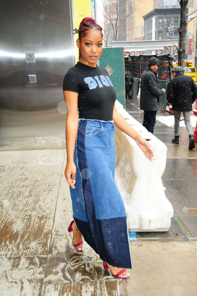 Keke Palmer: Leaves Associated Press Offices -08
