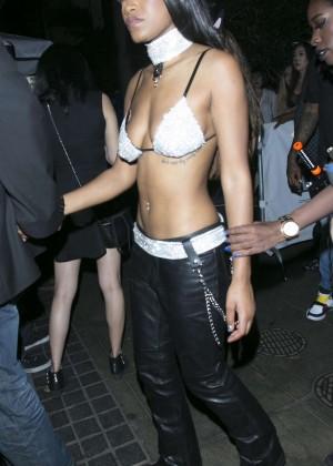 Keke Palmer - Leaves Quincy Halloween Party in Los Angeles