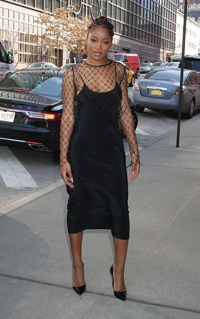 Keke Palmer - Leaving the 'Harry' talk show in NYC