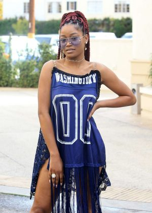 Keke Palmer out and about in Los Angeles