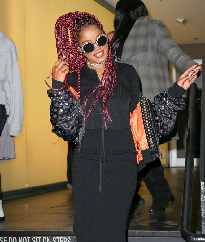 Keke Palmer out in New York City