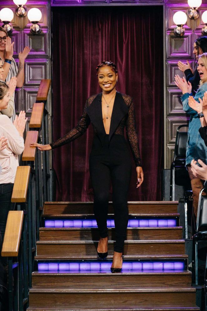 Keke Palmer - 'The Late Late Show with James Corden' in Los Angeles