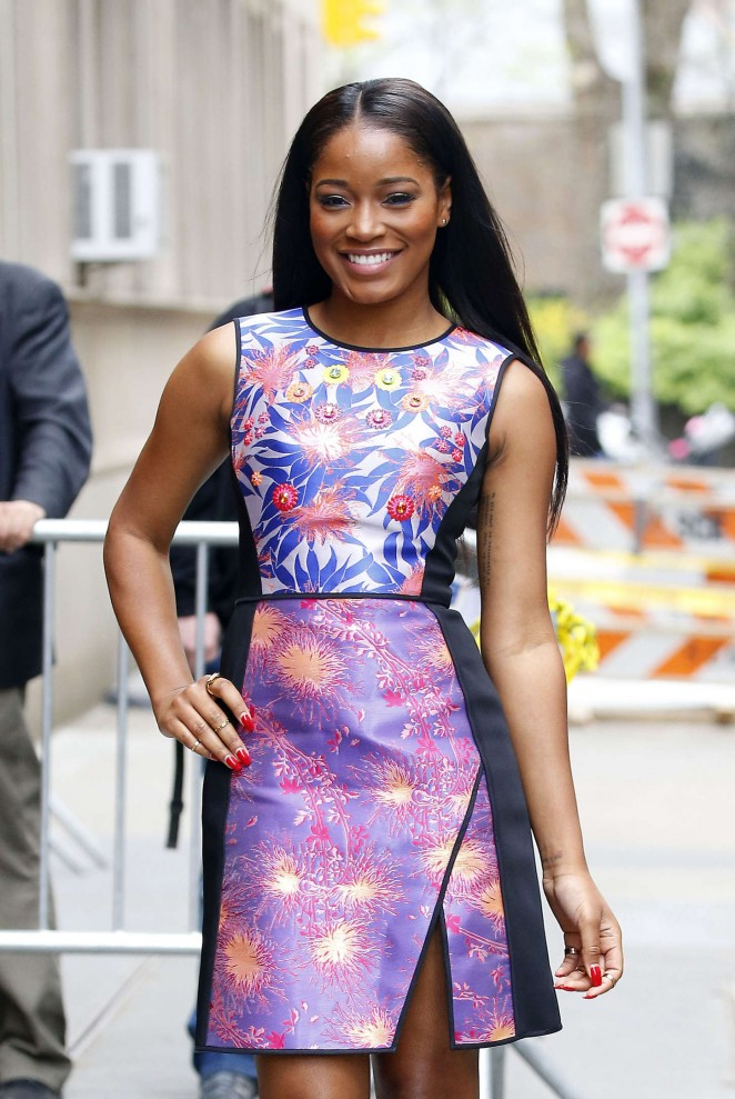 Keke Palmer - 'The View' in NYC