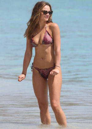 Keleigh Sperry in Bikini on the beach in Hawaii
