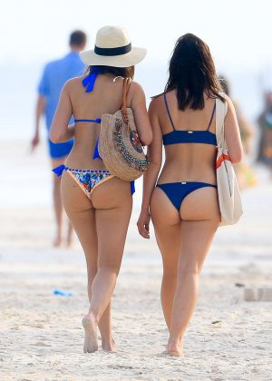 Keleigh Sperry in Bikini on the beach in Mexico Pic 17 of 35