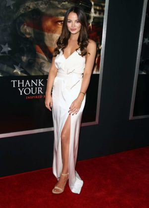 Keleigh Sperry - 'Thank You For Your Service' Premiere in Los Angeles