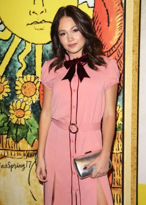 Kelli Berglund - Alice + Olivia by Stacey Bendet SS 2017 Show in NYC