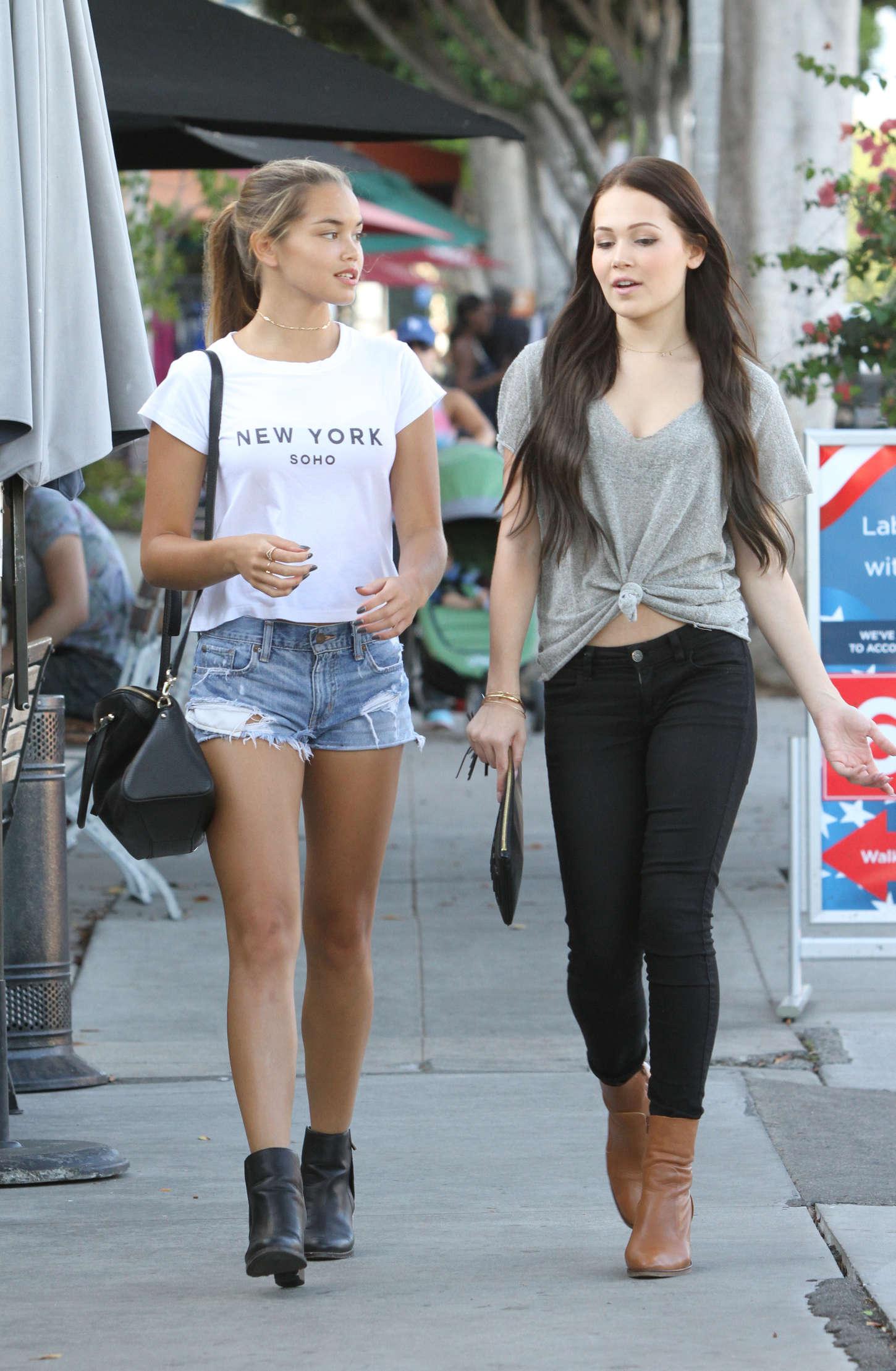 Kelli Berglund And Paris Berelc Shopping In LA 14 GotCeleb