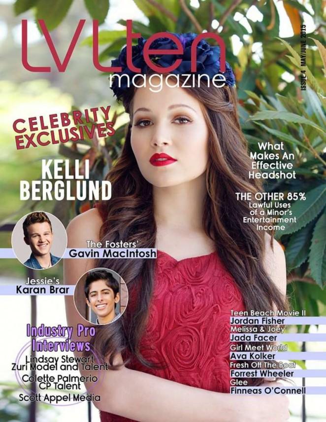 Kelli Berglund - LVLten Magazine Cover (May/June 2015)