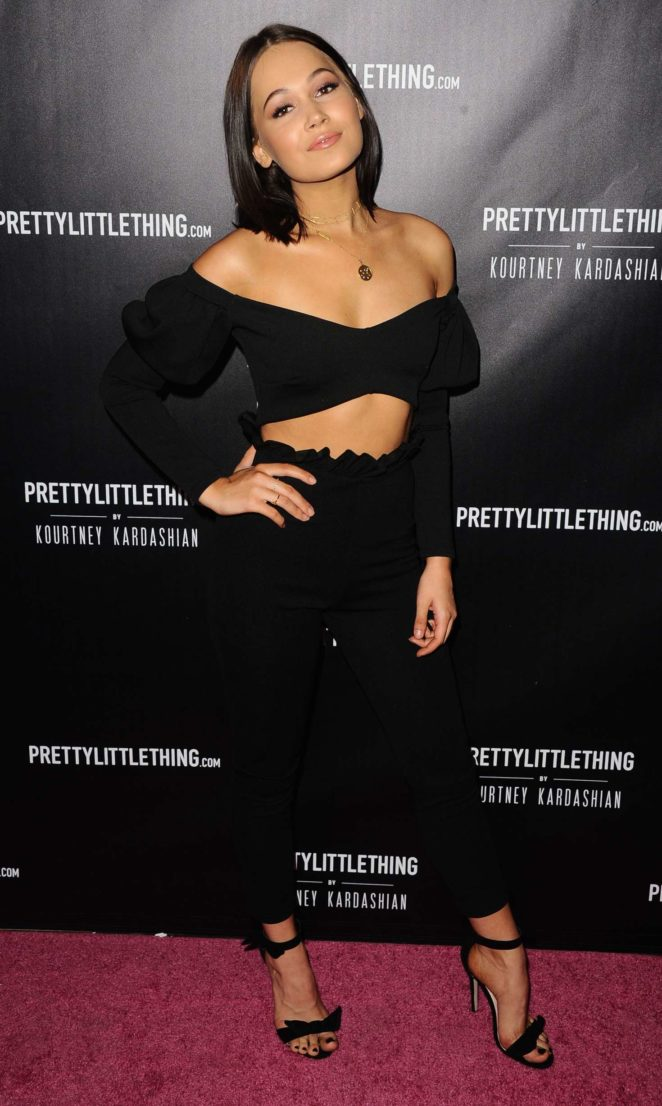 Kelli Berglund – PrettyLittleThing Launch Party in Los Angeles