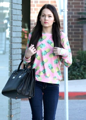 Kelli Berglund in Tight Jeans Out in Beverly Hills