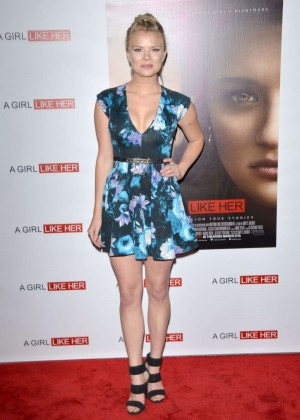 "Kelli Goss - ""A Girl Like Her"" Premiere in Hollywood"
