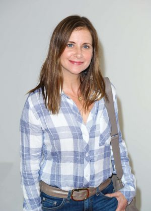 Kellie Martin at Smashbox Studios in Culver City