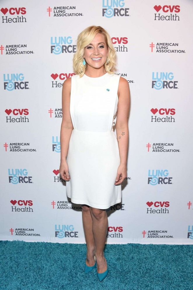 Kellie Pickler - American Lung Association LUNG FORCE Launch in NYC