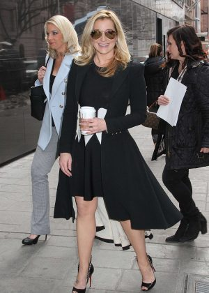 Kellie Pickler - Arrives at 'Good Day New York' in NYC