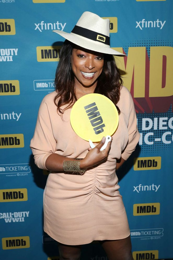 Kellita Smith - IMDboat At San Diego Comic-Con 2017