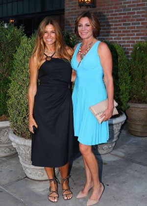 Kelly Bensimon and Luann de Lesseps out in New York