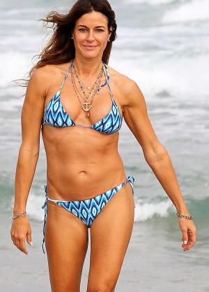 Kelly Bensimon in Bikini in Palm Beach
