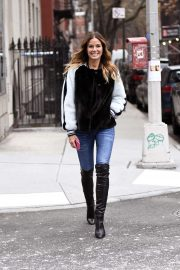 Kelly Bensimon - Doing a Photoshoot in the West Village Section of New York