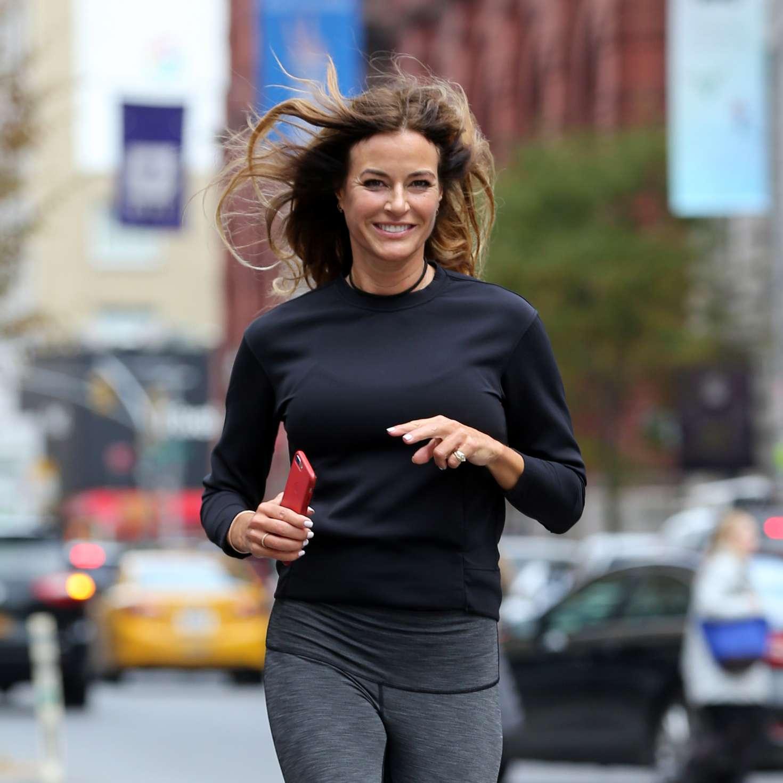Kelly Bensimon 2017 : Kelly Bensimon: Goes for a jog in NYC -09