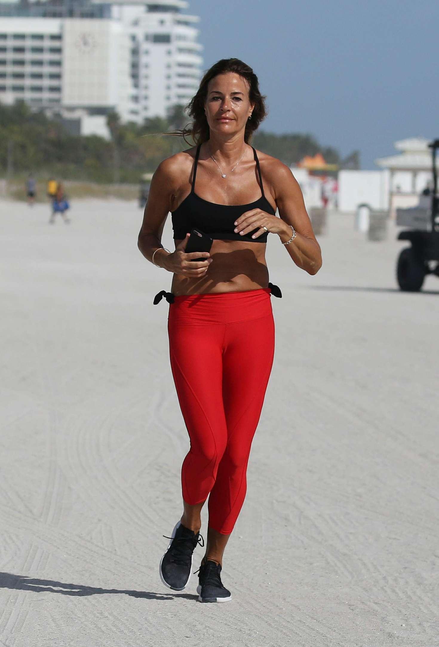 Kelly Bensimon 2019 : Kelly Bensimon in Red Tights -04