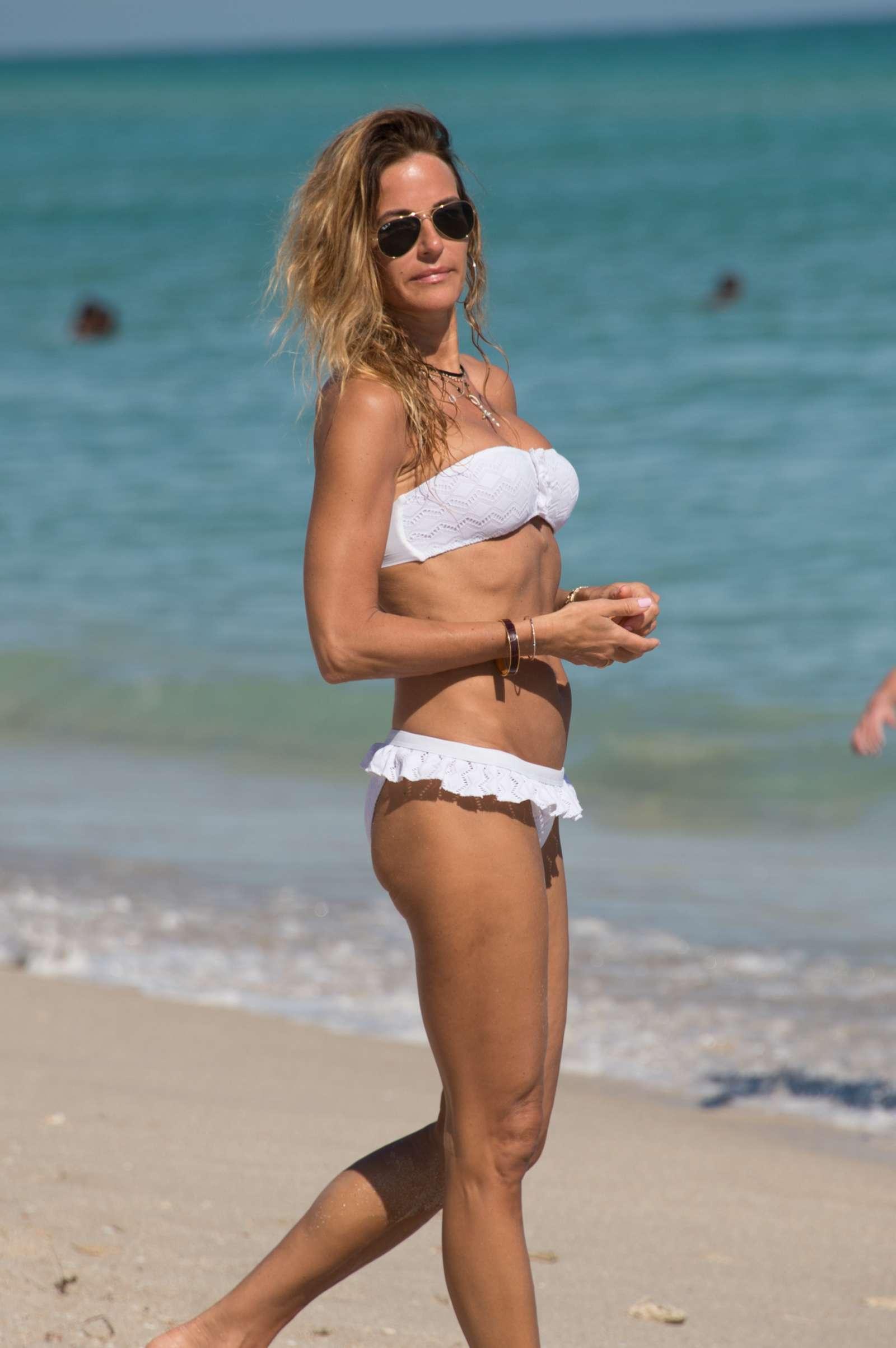 Kelly Bensimon 2017 : Kelly Bensimon in White Bikini 2017 -30