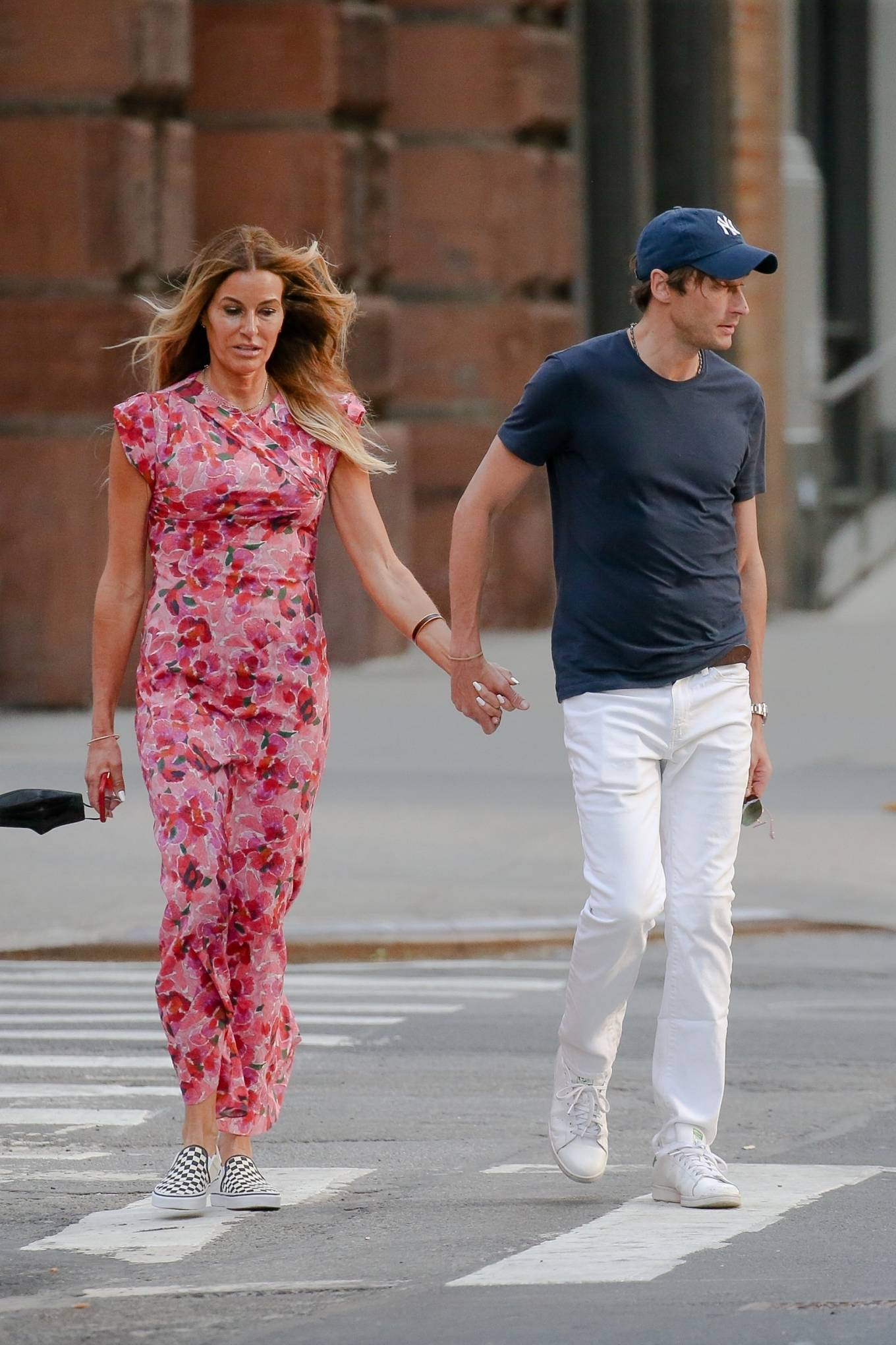 Kelly Bensimon - Out for a stroll in New York
