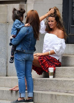 Kelly Bensimon out in New York City