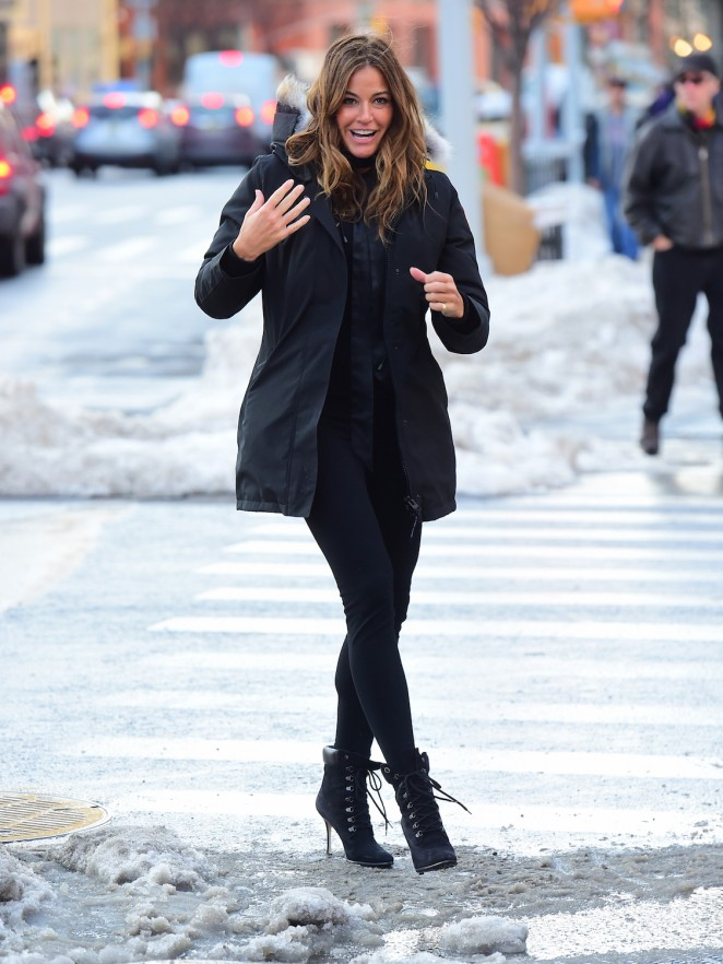 Kelly Bensimon out in NY