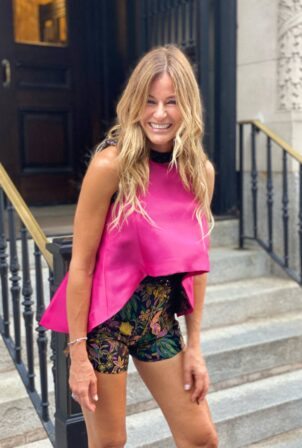 Kelly Bensimon - Steps out in New York