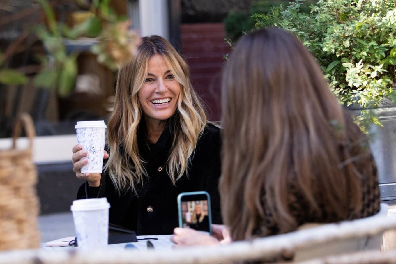 Kelly Bensimon 2020 : Kelly Bensimon – With her pup out for a coffee in NYC-04