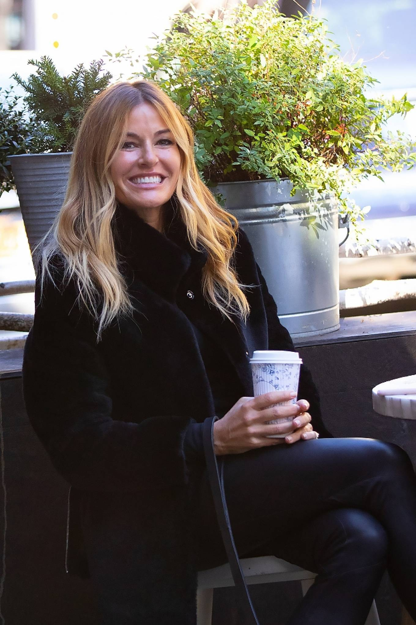 Kelly Bensimon 2020 : Kelly Bensimon – With her pup out for a coffee in NYC-06