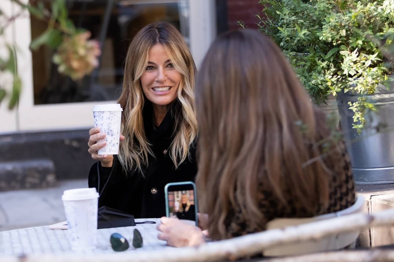 Kelly Bensimon 2020 : Kelly Bensimon – With her pup out for a coffee in NYC-10