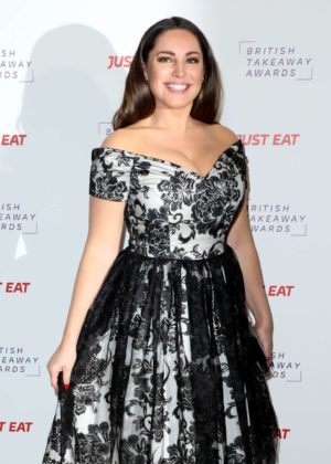 Kelly Brook - 2017 British Takeaways Awards in London