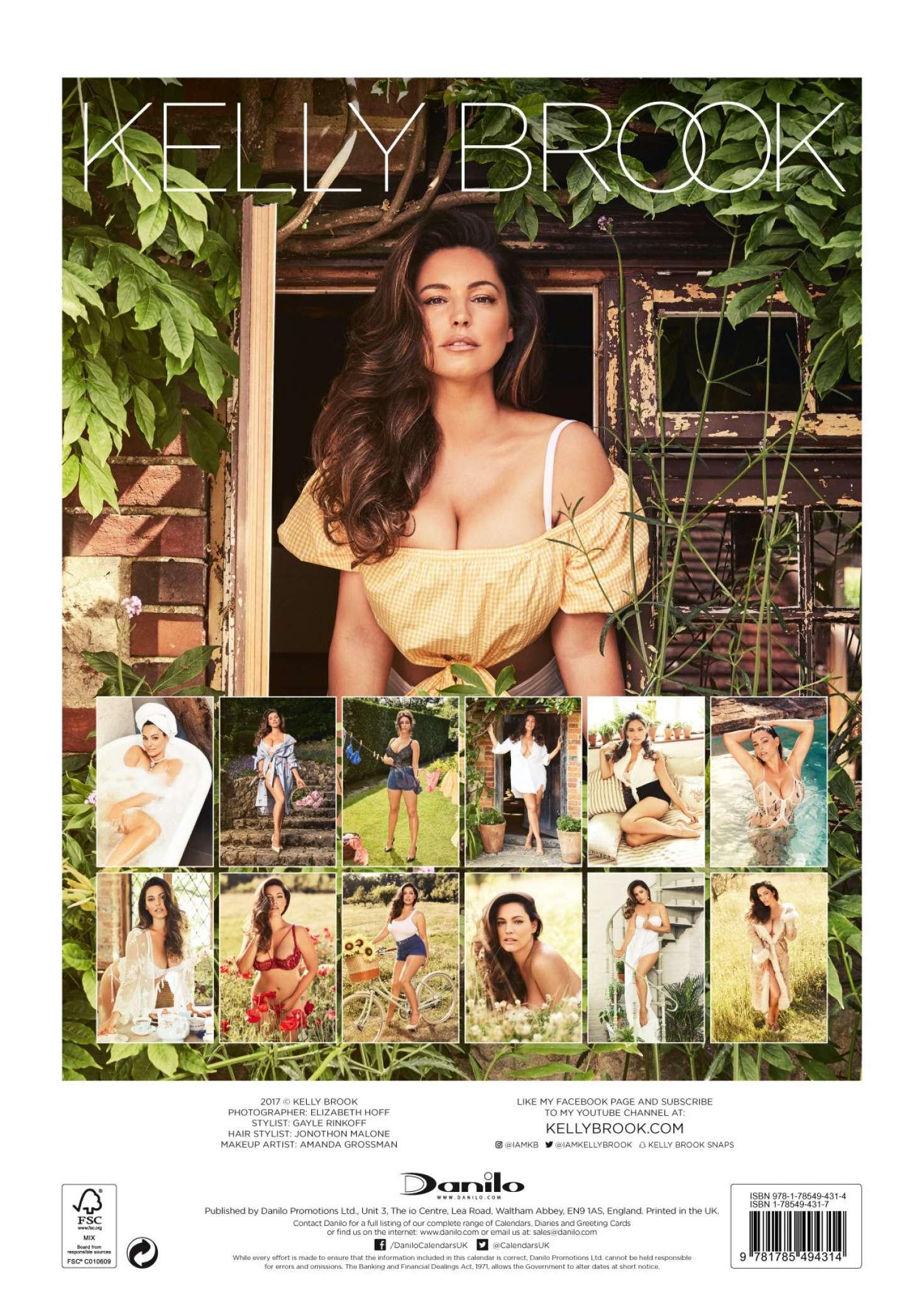 Kelly Brook   2018 Calendar