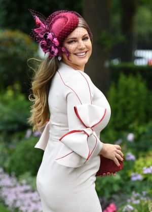 Kelly Brook - 2018 Royal Ascot in Berkshire