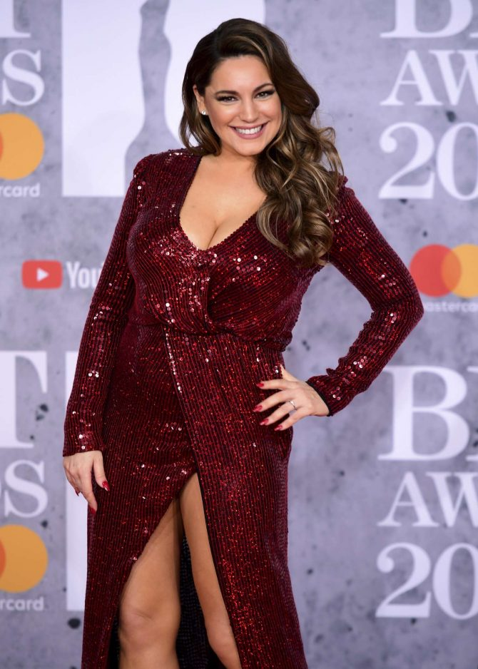 Kelly Brook – 2019 BRIT Awards in London