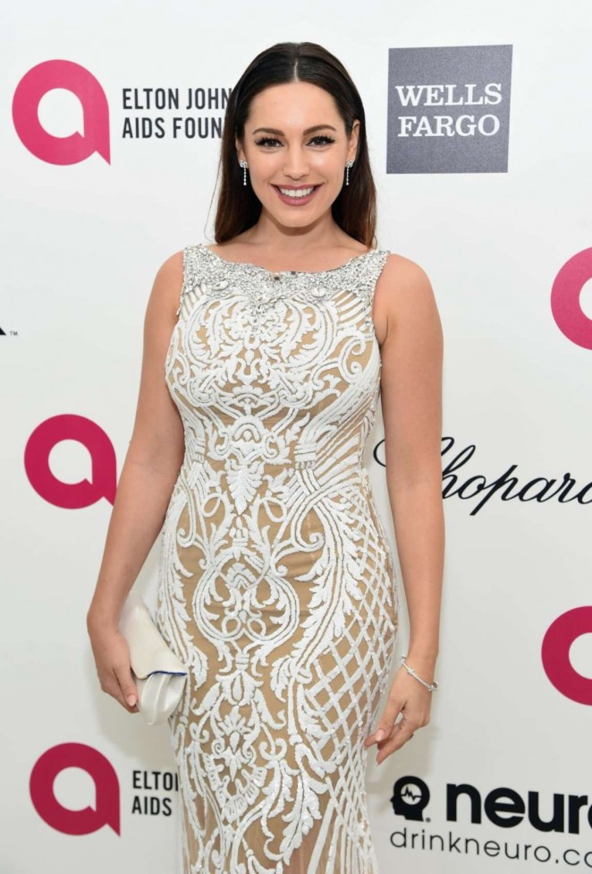 Kelly Brook - Oscars 2015 - Elton John AIDS Foundation Academy Awards Party