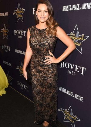Kelly Brook - Hollywood Domino Gala 2015 in West Hollywood