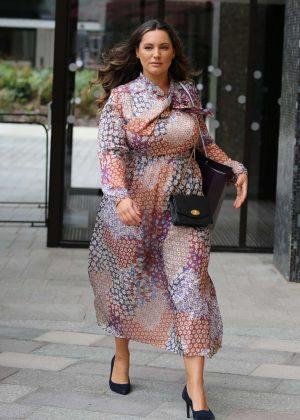 Kelly Brook - Arrives at ITV Studios in London