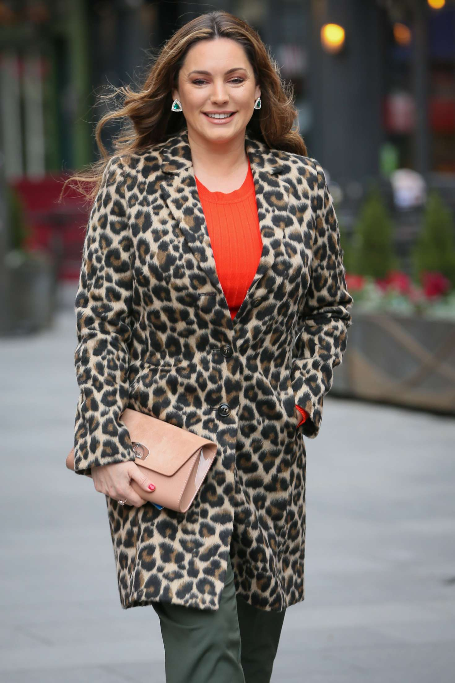 Kelly Brook - Arriving at Global Show in London